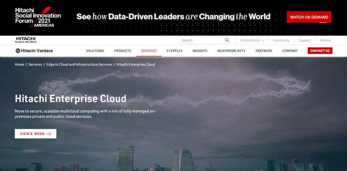 Hitachi Enterprise Cloud.