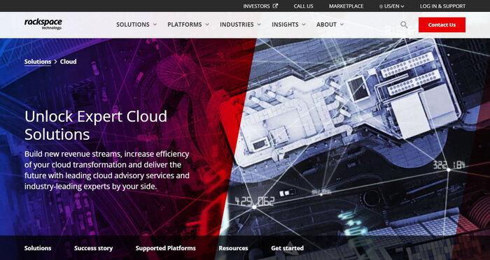 Open Cloud by Rackspace